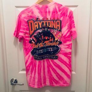 RAD!! Daytona 500 Event Graphic Tee 2017 - Tye Dye